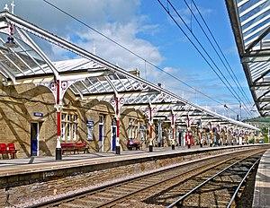 Skipton railway station - Skipton station in June 2013.