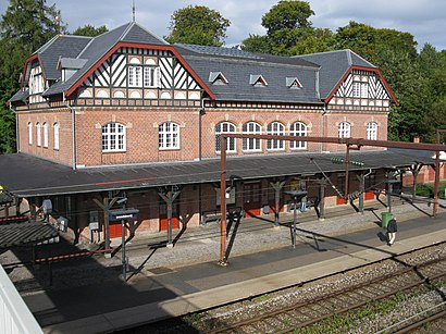 How to get to Skodsborg Sti with public transit - About the place