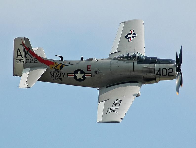 File:Skyraider AD-4N.jpg