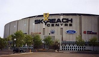 Northlands Coliseum - Skyreach Centre in 2001