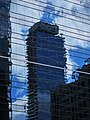 Skyscraper reflected (15547867489).jpg