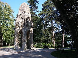 Park - Sad Janka Kráľa park in Bratislava (Slovakia)