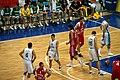 Slovenia - Croatia at Eurobasket 2009 2.jpg