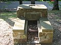 Small fireplace in the CCC picnic grounds at Jackson-Washington State Forest.jpg
