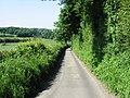 Small lane running N into Elham - geograph.org.uk - 856705.jpg