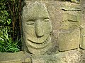 Smiling face at Mount Pleasant - geograph.org.uk - 394453.jpg