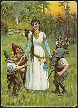 Snøhvit og de syv dvergene - Snow White and the seven dwarves (34448617885)