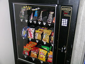 English: Snack Machine