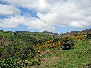 621m high mountain in Isle of Man