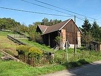 Soběšovice (Chrášťany), dřevěný dům.jpg