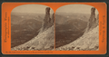 South Dome from Summit of Mount Hoffman, Sierras, Cal, by Reilly, John James, 1839-1894.png