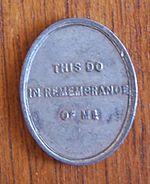 Scottish Presbyterian Communion token