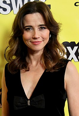 Cardellini tijdens het South by Southwest-festival in 2019
