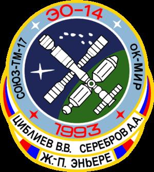 Jean-Pierre Haigneré - Image: Soyuz TM 17 patch