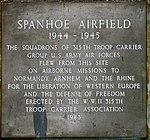 Spanhoe Airfield memorial plaque - geograph.org.uk - 3365459.jpg