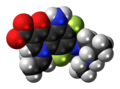 Sparfloxacin zwitterion spacefill.png