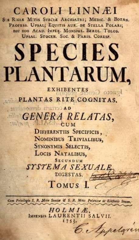 Species plantarum 002