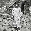 Srajca v celoti- srajca od poroke z rokavi (tver), s črno žido povezano, spodaj rekomirano 1950.jpg