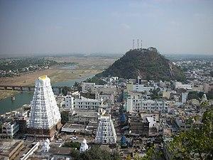 Srikalahasti - Srikalahasti aerial view