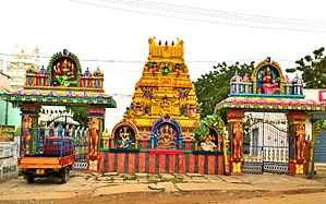 Kovur, Nellore district - Sri Nagavarapamma temple, Kovur