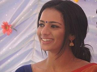 Sruthi Hariharan Indian actress