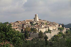 Saint-Paul-de-Vence - Image: St Paul de Vence (Lunon)