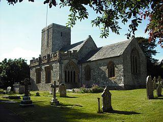 Stinsford village in the United Kingdom