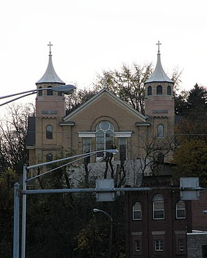 St. Nicholas Croatian Church (Millvale, Pennsylvania) - Image: St.Nicholas Croatian Church