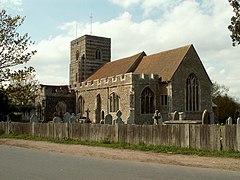 St. Andrew's church, Fingringhoe, Essex - geograph.org.uk - 165715.jpg