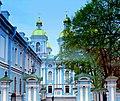 St. Petersburg - Nicholas' Naval Cathedral - Морской Николая собор - panoramio (1).jpg