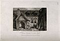 St. Thomas's Hospital, Sandwich, Kent. Etching by J. Greig, Wellcome V0014466.jpg