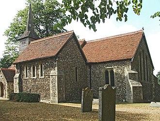 Stapleford Tawney - Image: St Marys Church Stapleford Tawney Essex(Christine Matthews)Jul 2006