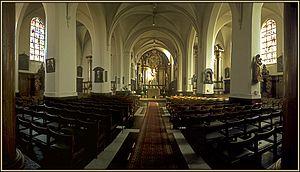 Wemmel - Image: St Servaas Wemmel