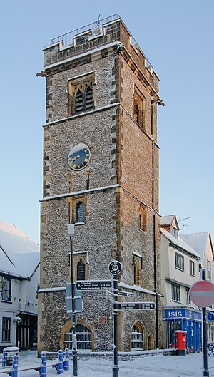 Clock Tower, St Albans - St Albans Clock Tower