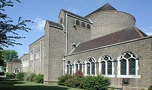 Eustace Balfour - Image: St Anselm, Uppingham Avenue, Belmont geograph.org.uk 1691299