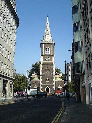St Botolph's Aldgate - Image: St Botolphs Aldgate front elevation
