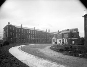 St Bricin's Military Hospital - The hospital, circa 1907-1913.