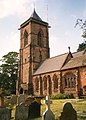 St Helen's Church - the tower, Tarporley - geograph.org.uk - 653918.jpg