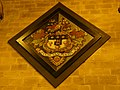 St John the Baptist Parish Church, Chester - hatchment on wall of south aisle in second bay west of crossing.jpg