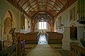 St Mary's Church, Stapleford Tawney, Essex, England ~ nave from the chancel.jpg