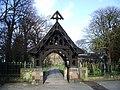 St Mary's Parish Church, Penwortham, Lych Gate - geograph.org.uk - 669752.jpg
