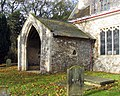 St Mary, Sedgeford, Norfolk - Porch - geograph.org.uk - 1701316.jpg