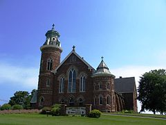 St Marys Church, Souris
