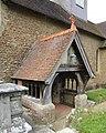 St Michael and All Angels Church, Highfield Lane, Thursley (June 2015) (Porch).JPG