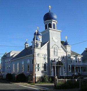 St. Nicholas Orthodox Church and Rectory - Image: St Nicholas Orthodox Church and Rectory Salem MA