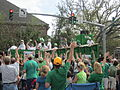 St Pats Parade Day Metairie 2012 Parade B4.JPG