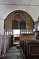 St Petrock's Church, Parracombe; screen and tympanum from the nave.jpg