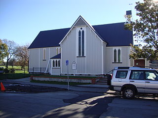 St Saviours Chapel Church in Lyttelton, New Zealand