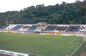 Stadionul Jean Pădureanu - Image: Stadion Gloria Bistrita