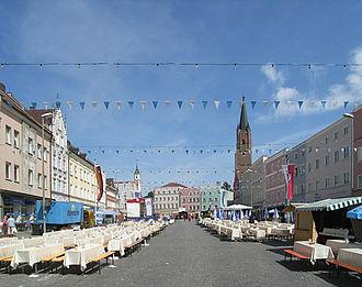 Eggenfelden - Town square
